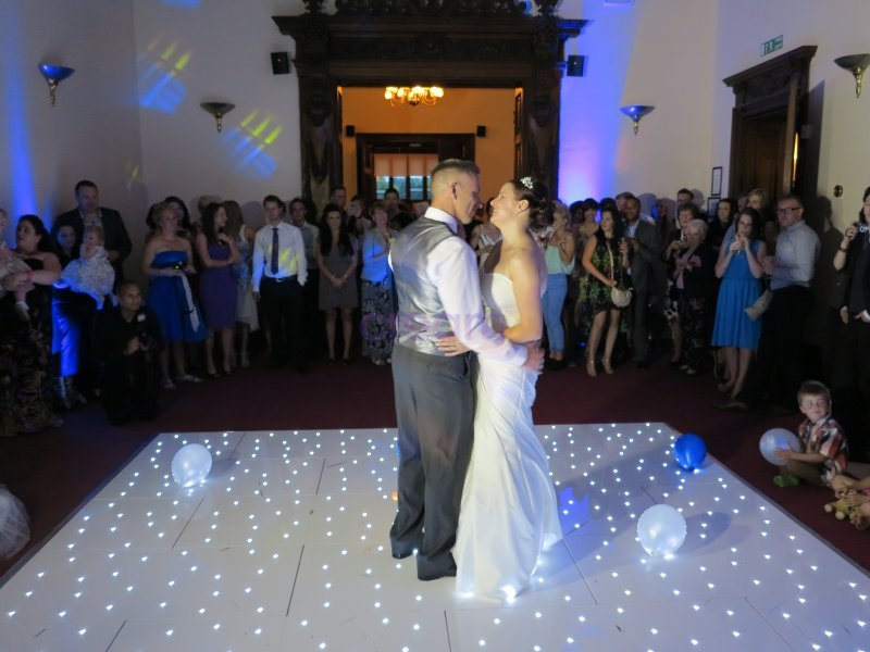 First Dance at Beaumanor Hall Wedding