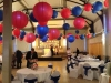 Circus themed wedding in Oakham at Victoria Hall