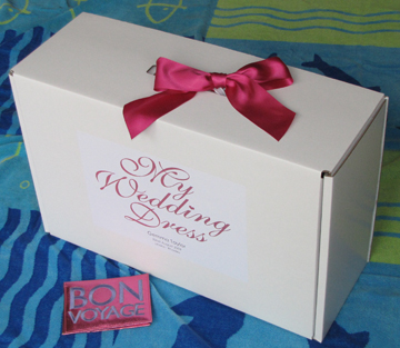 Wedding Dress Travel Boxes from lifememoriesbox.co.uk « cream ...