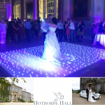 Cream Entertainments at Hothorpe Hall Wedding Showcase