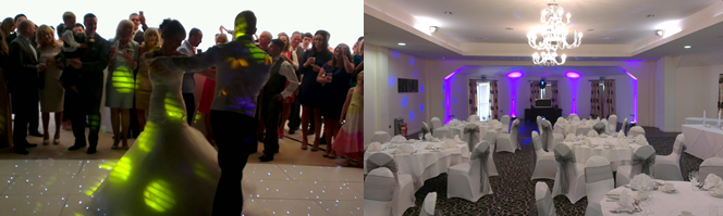 sketchley grange wedding disco dj band dancefloor entertainments